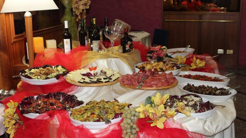 Ristorante a Buffet albergo 4 stelle in Abruzzo