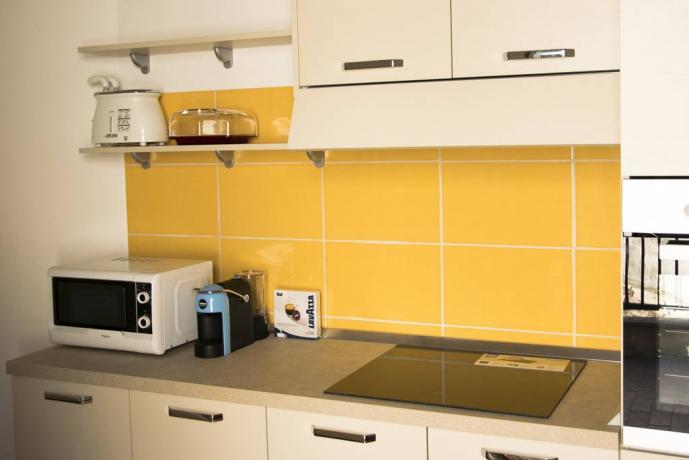 Casale uso cucina a Gualdo Cattaneo in Umbria