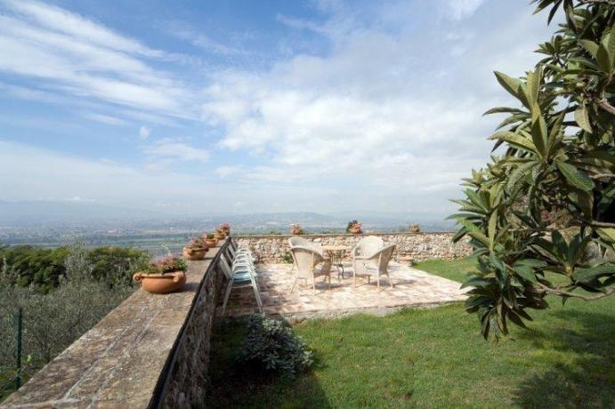 Grande Terrazzo panoramico, per aperitivi e relax