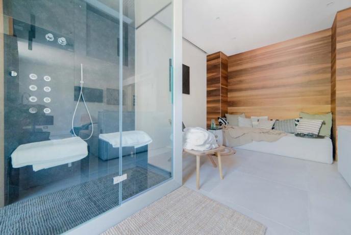 Bagno turco in suite privata hotel4stelle Baia-Domizia