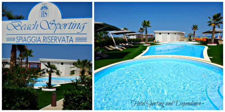 Alba Adriatica Hotel con Piscina Fronte Mare