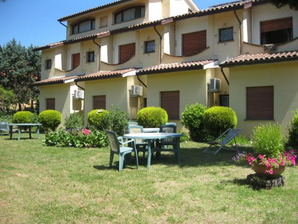 Hotel con giardino a Chiusi vicino Chianciano Terme