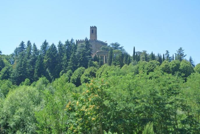 Hotel Arezzo con camera vista panoramica