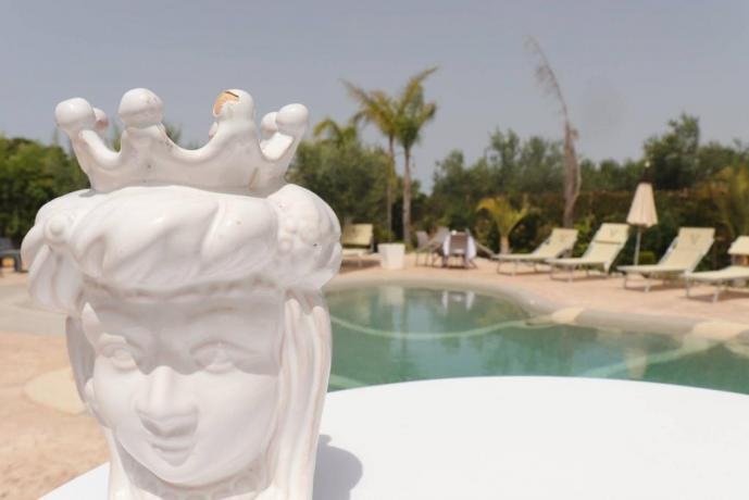 Piscina naturale con sabbia hotel3stelle Trapani