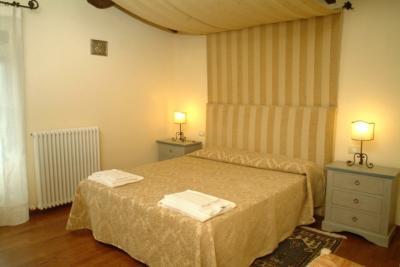 Appartamento Capriolo, Camera da letto