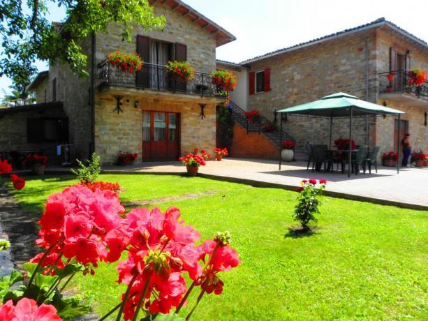 Appartamenti vacanza e camere con colazione a Gubbio
