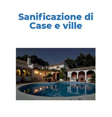 Sanificazione-Igienizzazione CORONAVIRUS: Casa e Villa Privata Roma