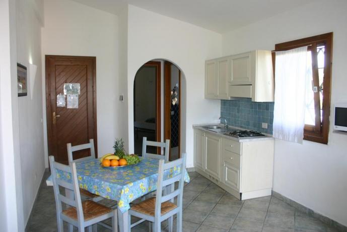 Interno Appartamenti Vacanza con Piscina Fronte Mare