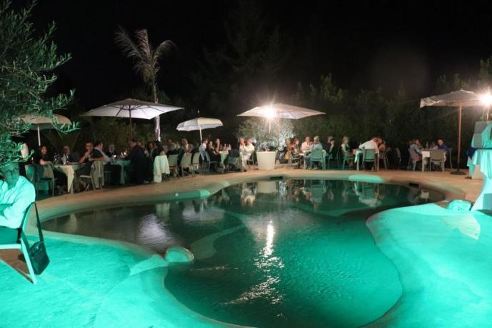 Festa in piscina hotel3stelle vicino Trapani