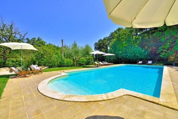 Casa Vacanza con Piscina in Umbria
