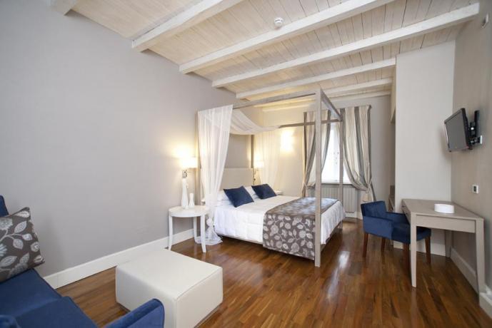Junior Suite con letto a baldacchino Spoleto