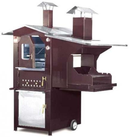 Forno con Barbecue