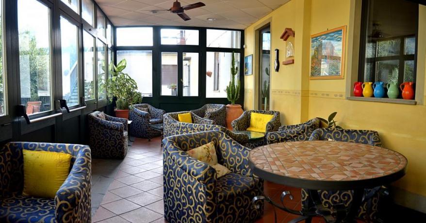 Area relax in hotel ristorante vicino Firenze
