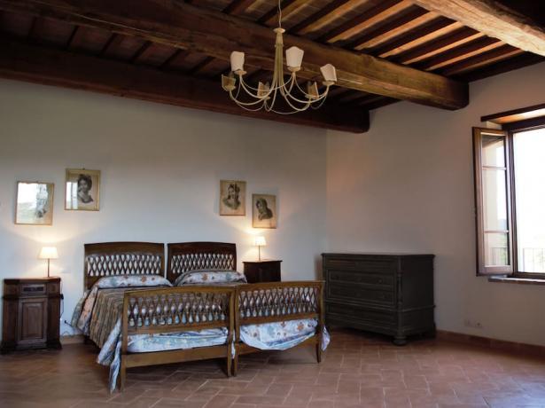 Dependance camera doppia borgo medievale Gualdo Cattaneo