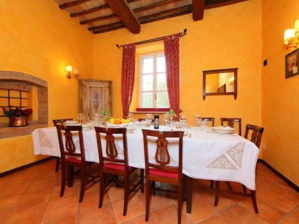 Mangiare in Umbria Villa Vacanze a Bettona