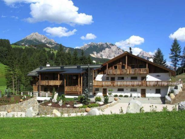 Appartamenti immersi nel verde del Trentino