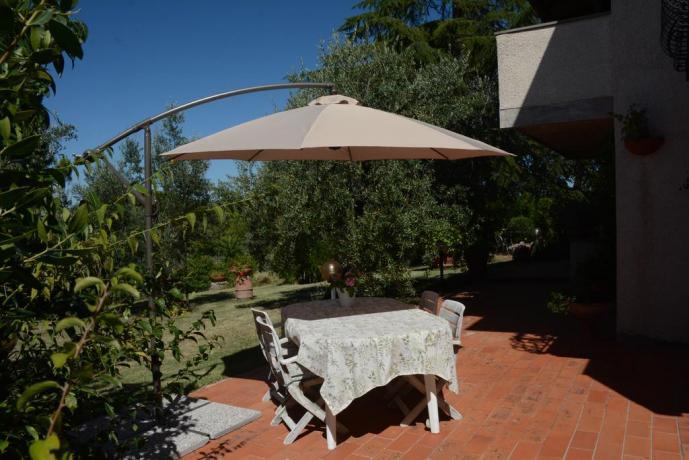 Bed and Breakfast ad Arezzo con giardino