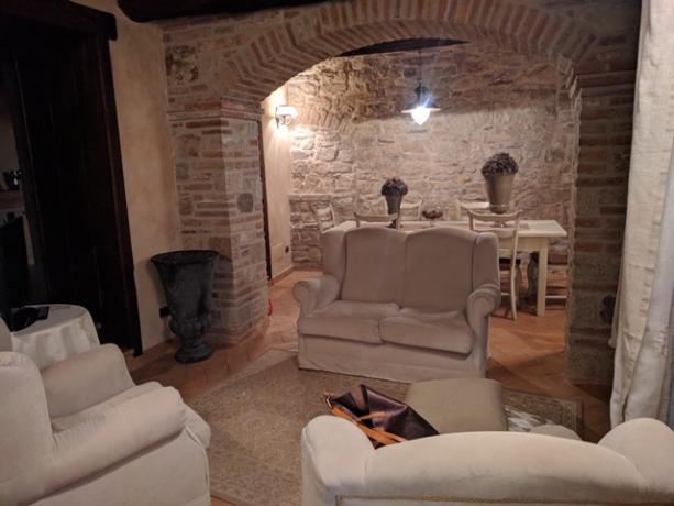 Salotto del Casale Monte Castello di Vibio