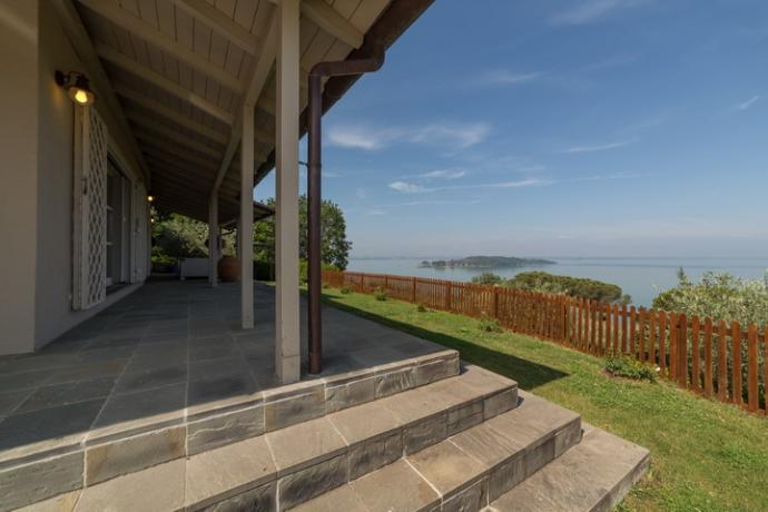estero della villa con giardino panoramico