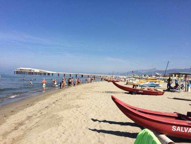 Hotel Versiliese con spiaggia privata