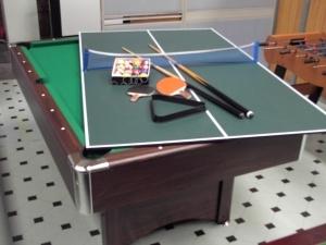 Produzione tavoli ping pong biliardo biliardi calciobalilla air hockey carambola copertino - Misure tavolo da ping pong professionale ...