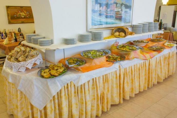 Sala Ristorante Hotel con Servizio Buffet