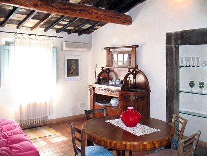 Soggiorno appartamento Rosso relais Calenzano