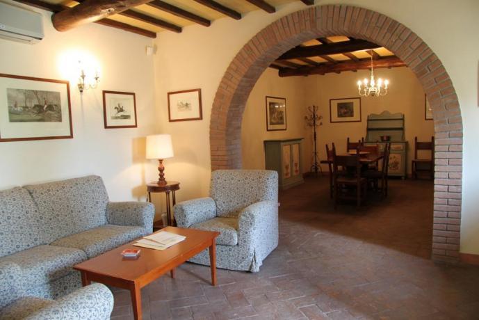 Appartamento Vacanza con ampio soggiorno residence Narni
