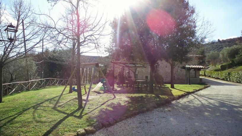Giochi per Bambini immersi nella natura in Umbria