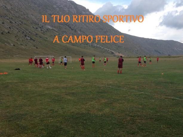 Ritiro Sportivo Calcio Abruzzo Campo-Felice