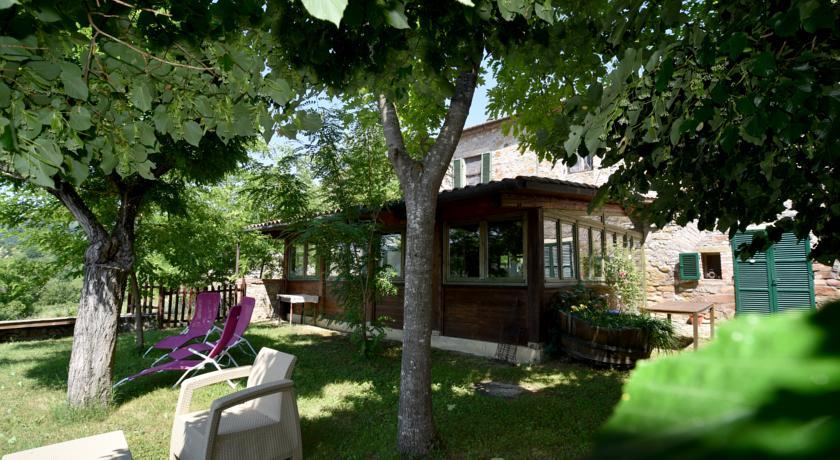 Edificio con suite e curato giardino