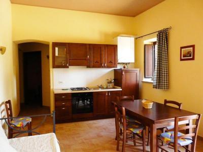 Soggiorno e Cucina appartamento Salice