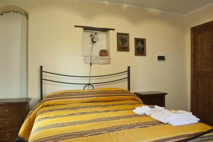 Appartamento in Casale Gaeta camera matrimoniale