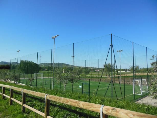 Campo da Calcetto vicino al Mare Abruzzo