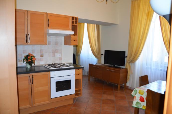 Appartamento bilocale uso singolo residence Ronciglione