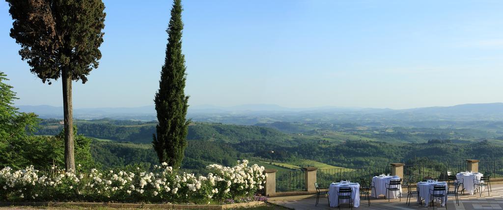 Vista panoramica nei Colli del Chianti
