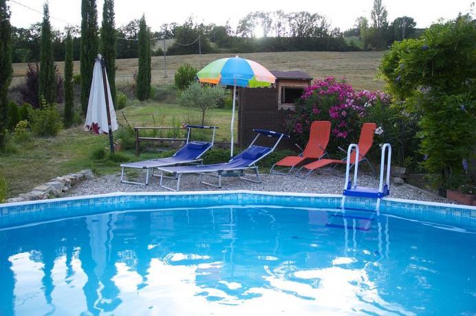 B&B vicino Umbertide con piscina