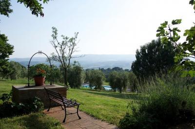 Vacanza in Agriturismo con piscina ad Orvieto