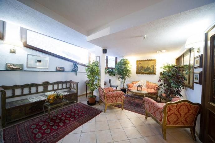Sala reception villa vacanze Bardonecchia Piemonte