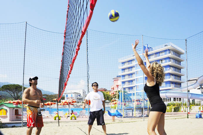 Campo Beach Volley al Villaggio a Loano