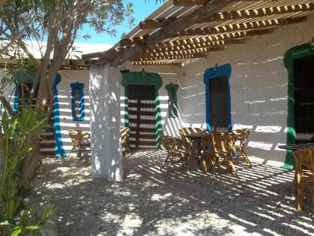 Villaggio in Sicilia vicino a Lampedusa