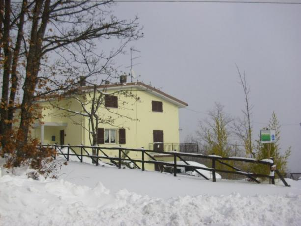 Bed-and-breakfast aperto tutto l'anno estate-inverno nell'Appennino Parmense