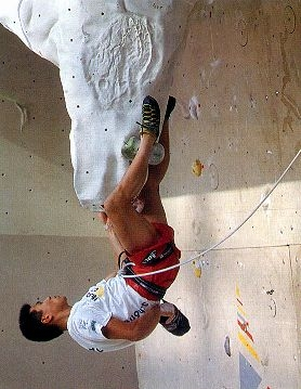 arrampicata su parete