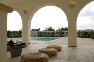 Ristrutturazione Masseria con piscina