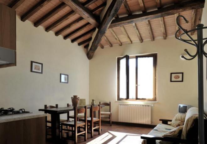 Appartament in antico borgo in Umbria