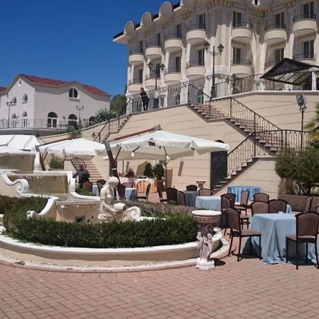 Esterno Grand Hotel 4 stelle ad Atena