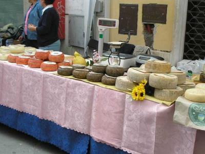Food and Wine in Tuscany; Pecorino cheese