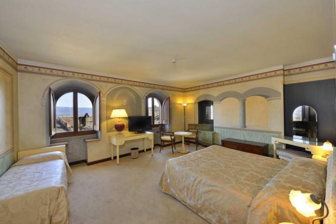 Monna Vanna Suite vista panoramica Antico Palazzo