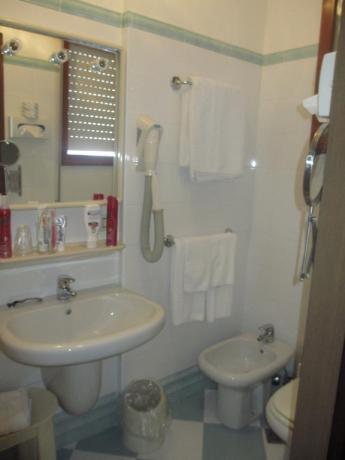 Bagno privato albergo in Veneto
