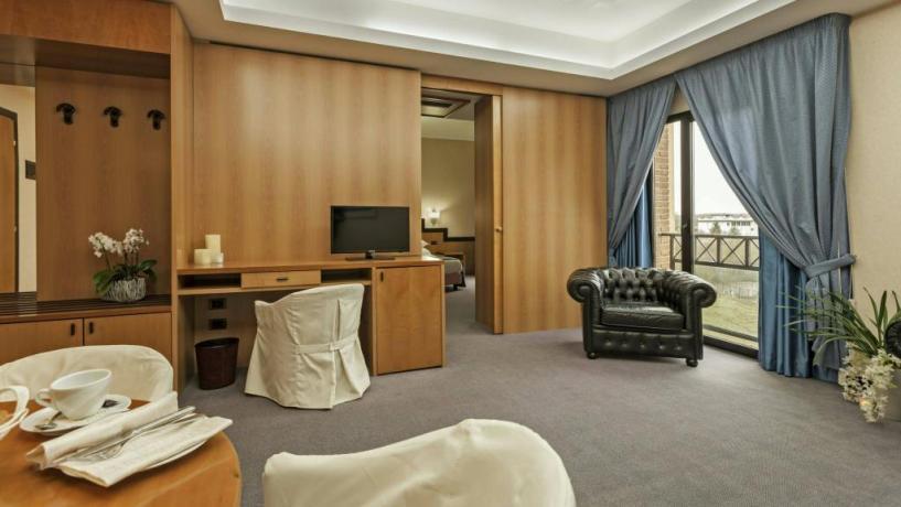 Junior Suite albergo 4 stelle in Abruzzo Avezzano